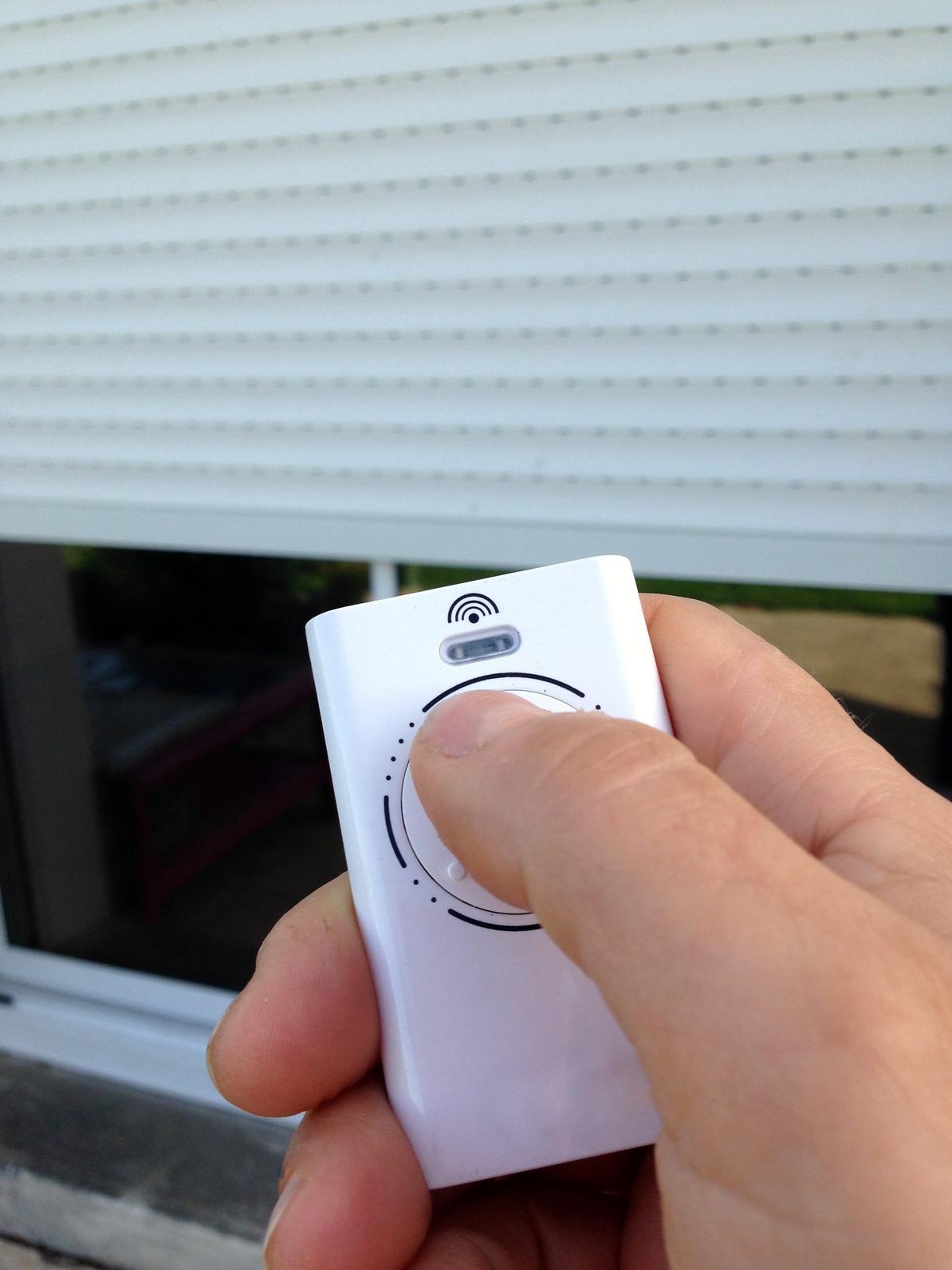 tlcommande lectrique pour fermeture de voletde maison